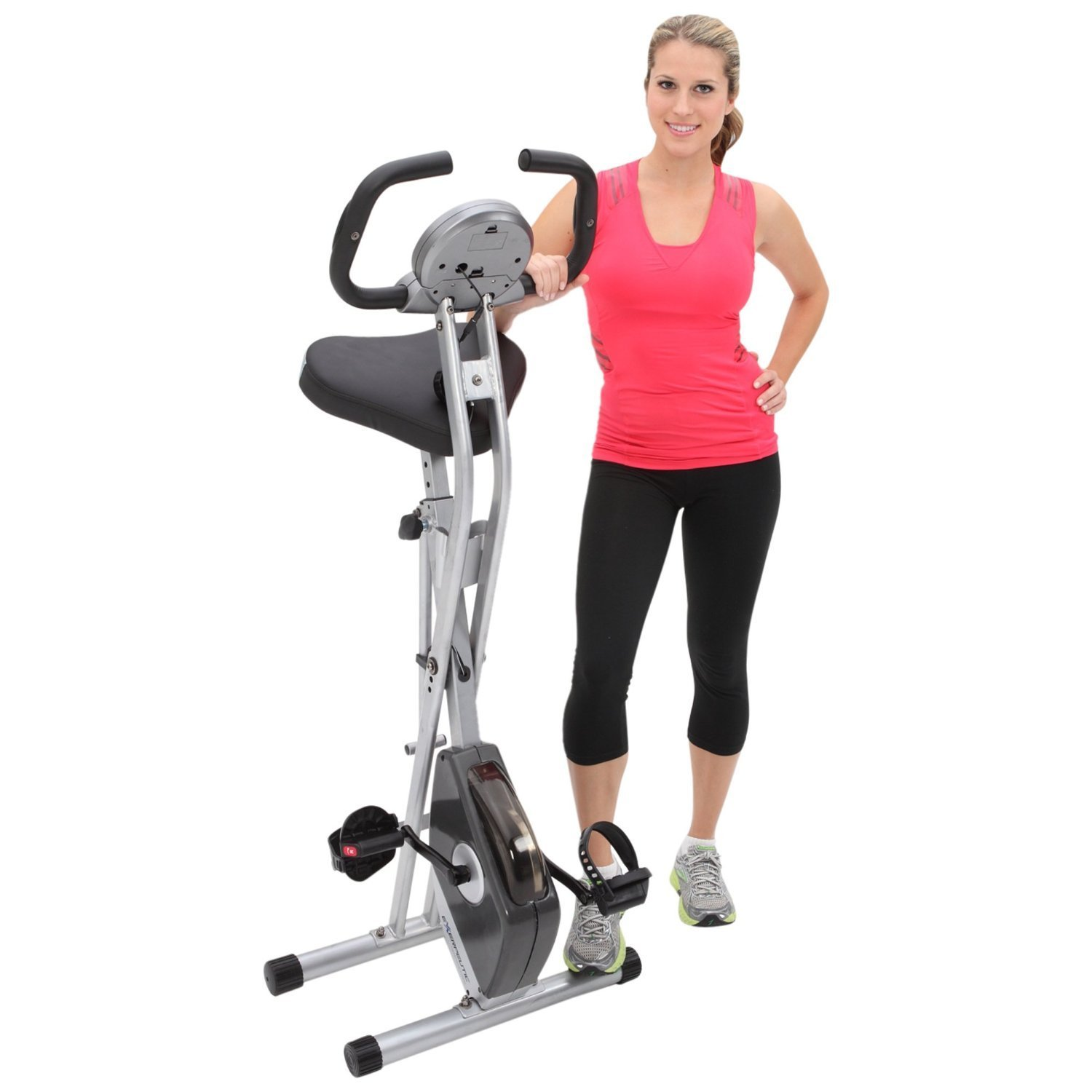 Best folding magnetic upright bike